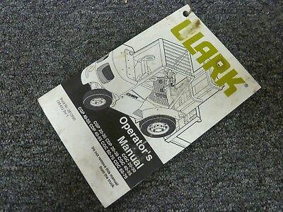 Clark CGC50 CGC55 CGP40 CGP45 CGP50 CGP55 CDP40 Forklift