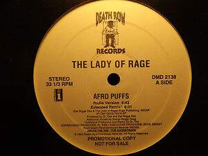 THE-LADY-OF-RAGE-AFRO-PUFFS-12-034-1994-RARE-DR-DRE-SNOOP-DOGG