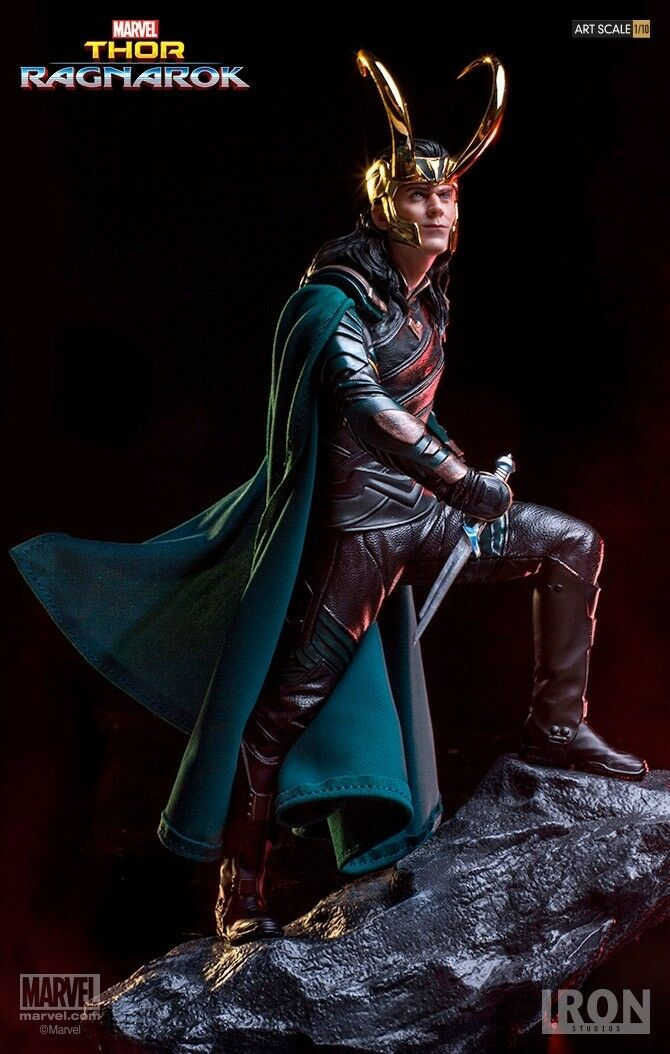 IRON STUDIOS Art Scale 1/10 Marvel Thor:Ragnarok Loki Collection Statue