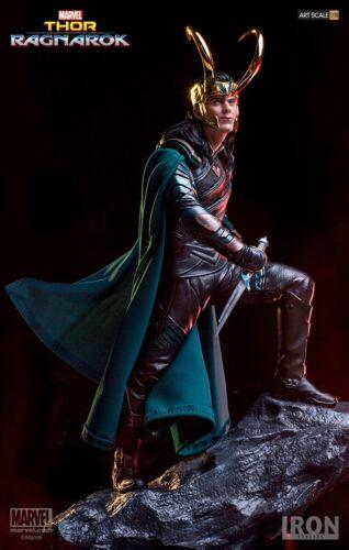 IRON STUDIOS Art Scale 1//10 Marvel Thor:Ragnarok Loki Collection Statue