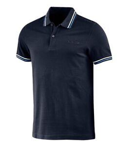 Polo-Uomo-Colletto-Maniche-Corte-Blu-Logo-LOTTO-Sport-L73-Piquet-GIOSAL
