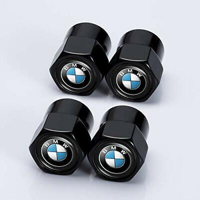 AAL IJUSTBY 4 Pcs Metal Car Wheel Tire Valve Stem Caps for BMW X1 X3 M3 M5 X1 X5 X6 Z4 3 5 7Series/Logo Styling Decoration Accessories.