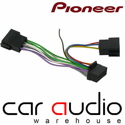 CT21PN03 PIONEER 16PIN WIRING HEAD UNIT REPLACEMENT POWER ADAPTOR DEH-P 4100 RDS