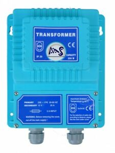 220//12V TRANSFORMATOR Trafo blau 300 W Sicherheits