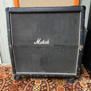 Vintage 1976 Marshall 4x12 Justin Hayward Guitar Cabinet Amplifier w/ Celestion