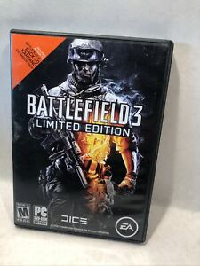 Battlefield 3: Limited Edition (PC, 2011) Game Manual Case