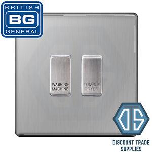 BG Brushed Steel Screwless Custom Grid Switch Panel Kitchen ...