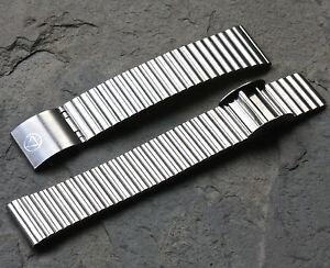 Matte-steel-18mm-NSA-Swiss-1960s-70s-NOS-watch-bracelet-sliding-clasp-Novavit