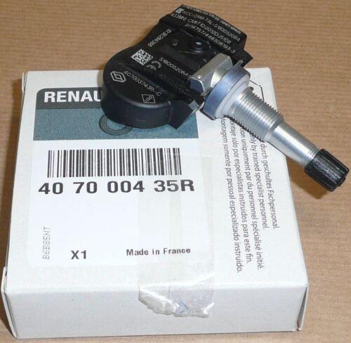 Renault Megane III Scenic III Talismán Zoe Interruptor del Sensor de Presión de Neumáticos TPMS