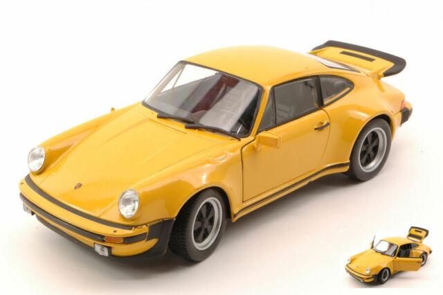 Porsche 911 Turbo 3.0 1974 Yellow 1:24 Model 4043Y WELLY