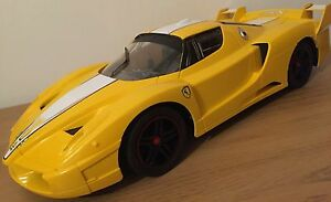 Details about XL FERRARI ENZO FXX RECHARGEABLE Radio Remote Control Car  FAST SPEED 110 YELLOW