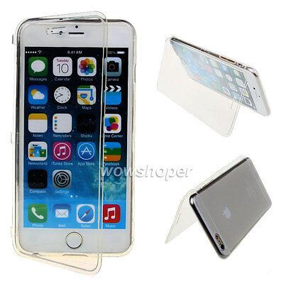 For Samrt Model Smart Phones Soft Transparent TPU Gel Flip Case Cover Clear