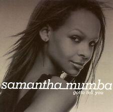 New: Samantha Mumba: Gotta Tell You  Audio CD