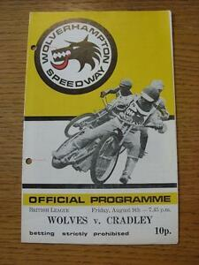 09081974 Speedway Programme Wolverhampton v Cradley  Pen Mark On Cover Punc - <span itemprop=availableAtOrFrom>Birmingham, United Kingdom</span> - Returns accepted within 30 days after the item is delivered, if goods not as described. Buyer assumes responibilty for return proof of postage and costs. Most purchases from business s - Birmingham, United Kingdom