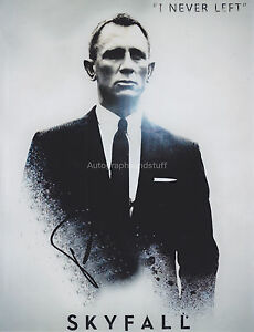 daniel craig hand signed 8x10 photo autograph james bond 007