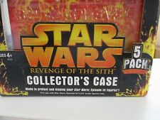 STAR WARS REVENGE OF THE SITH COLLECTOR/'S CASE 5 PACK  Hasbro 2005
