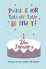 Puzzles for You on Your Birthday - 26th January by Clarity Media (2014,...