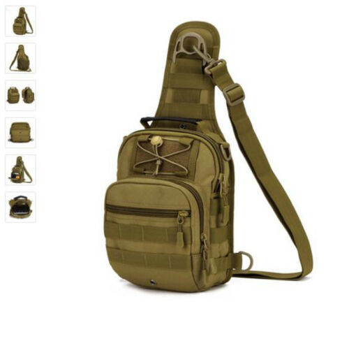 Sport Camping Man Bag Military Tactical Back pack Outdoor Shoulder Bags