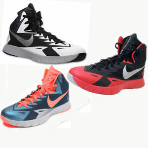 sale retailer f1ce3 02211 Image is loading Nike-Mens-Lunar-Hyper-quickness-Basketball-Shoes-652777