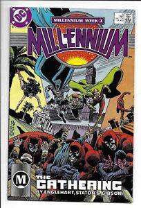 Millennium 1987 series # 3 near mint comic book