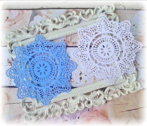 "1 pack of 5pcs. 4.2/"" Crochet Doilies"