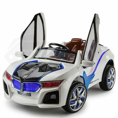 ROVO KIDS BMW i8 Inspired Electric Ride On Car Battery Toy Motorised 2 Speed