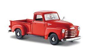 Maisto-1950-Chevy-3100-Pickup-Truck-Orange-31952-1-24-Scale-Diecast-Model-To