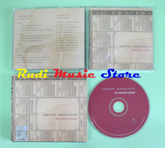 CD Gidon Kremerata Baltica The Russian Seasons 2003 (Xs2) No LP Mc DVD