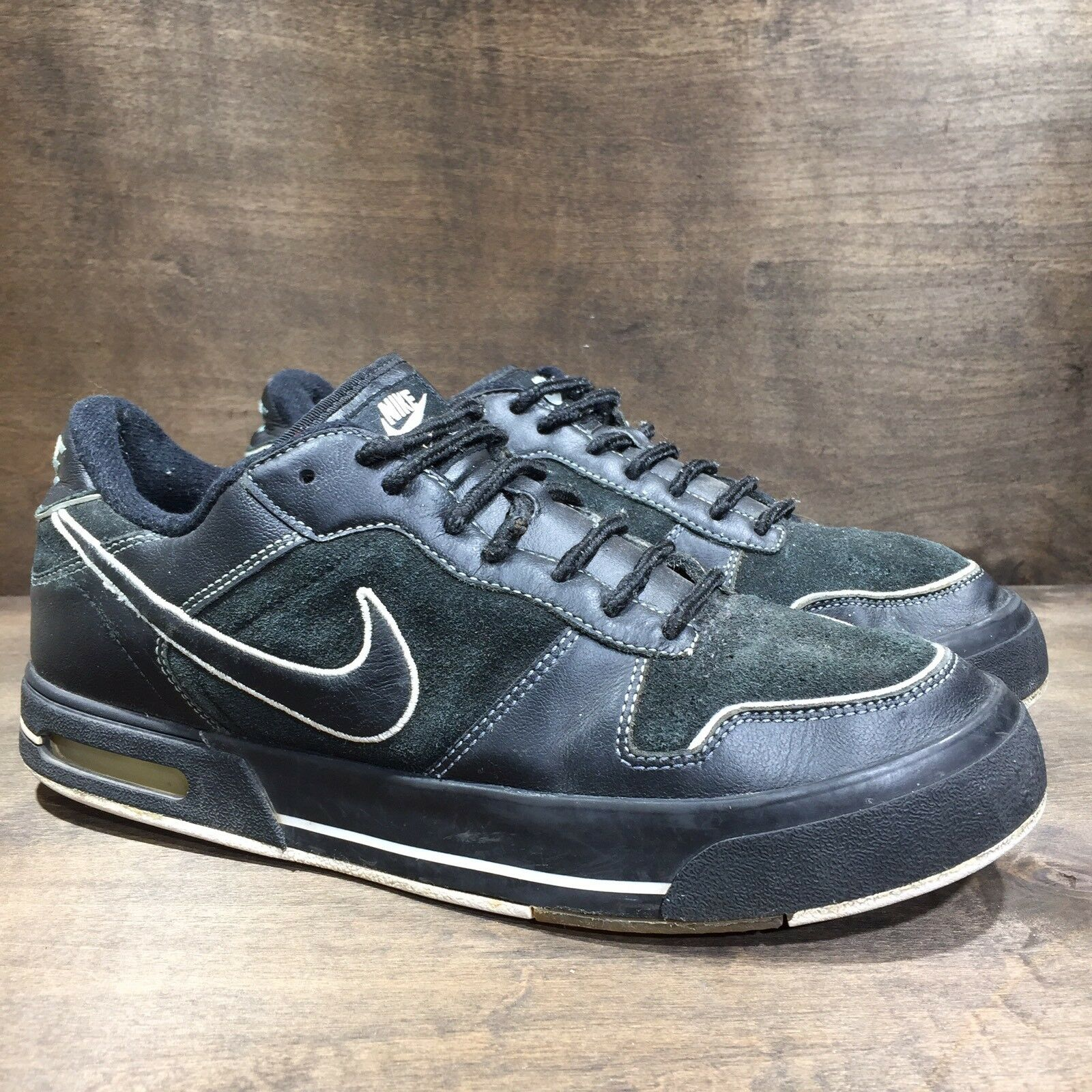 Nike Air Sellwood Shoes Black White  Men's Comfortable Cheap and beautiful fashion