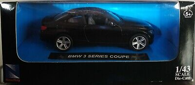 1//43 BMW SERIE 3 COUPE AÑO 2007 NEW RAY ESCALA DIE CAST