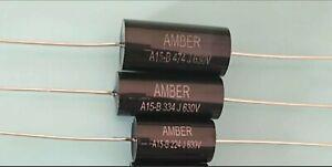 Pure-Black-capacitor-kit-630-volt-2-tolerance-valve-radio-SMALLER-KIT