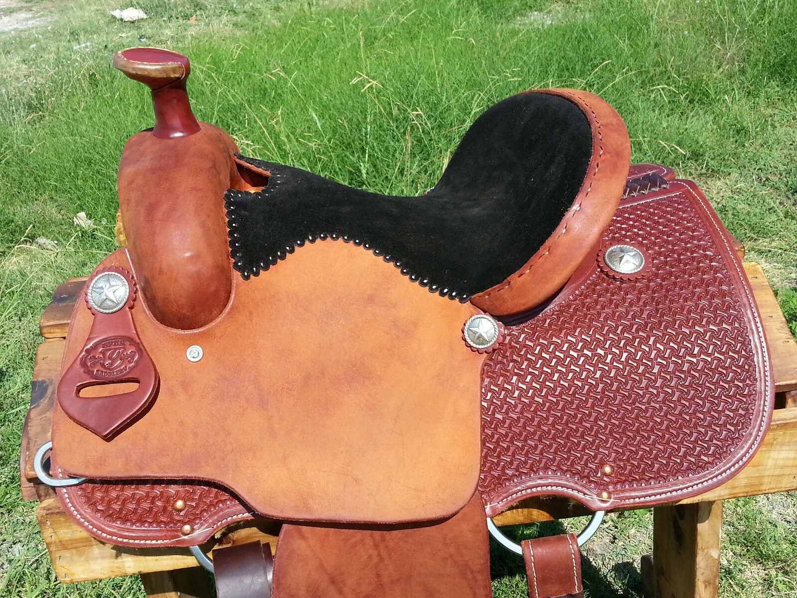 13.5  Spur Saddlery All Around Roping Saddle (Made in Texas)