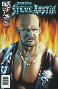 STONE-COLD-WWF-WWE-WRESTLING-LICENSED-CHAOS-COMIC-1999-BOOK-1-NEW