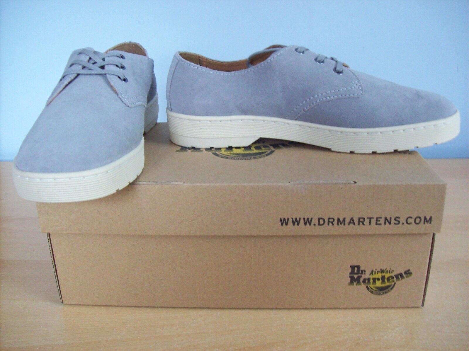 Scarpe Dr Derby Martens da Uomo Coronado Derby Dr Hi Suede Shoes Grigio Medio TG 9 Nuovo + in Scatola 5ae64b
