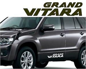Image Is Loading SUZUKI GRAND VITARA Car Body Tuning Vinyl Sticker