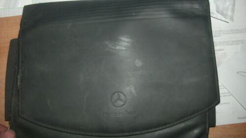 2002 2003 MERCEDES-BENZ COMPLETE MODEL LINE OWNERS MANUAL DELUXE SNAP OPEN CASE