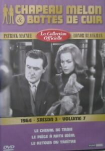 DVD-NEUF-CHAPEAU-MELON-amp-BOTTES-DE-CUIR-1963-SAISON-3-VOLUME-7