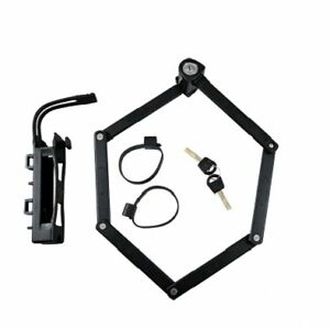 antivol v lo pliable cl trelock tf90 85cm vae e bike pliant type abus neuf ebay. Black Bedroom Furniture Sets. Home Design Ideas