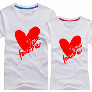 Fashion Women Men Top Summer Clothes Casual Wear Designer Lovers Couple T Shirt Ebay