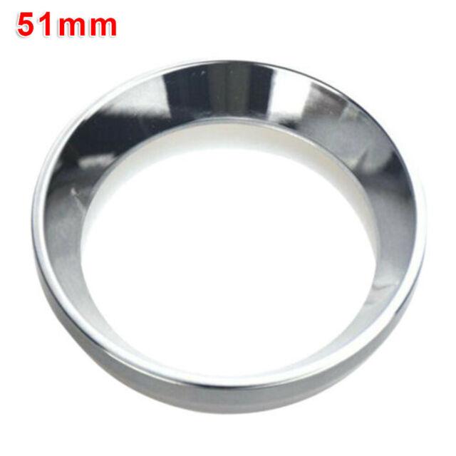 Aluminum Espresso Coffee Dosing Ring Funnel Portafilters Cafe Ground Ring Funnel