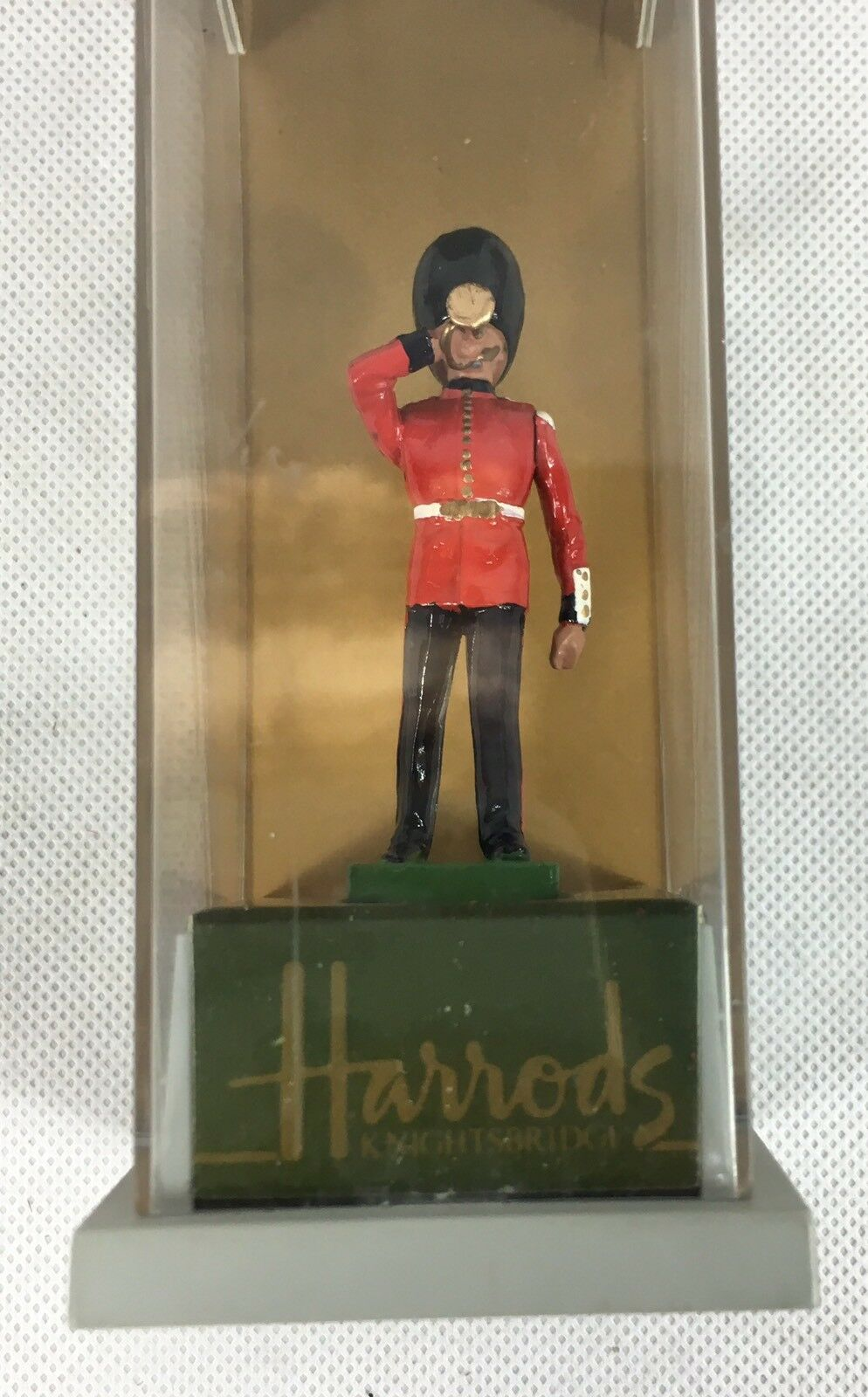 Britains Maker Coldstream Guards Trumpeter Toy In Original Box