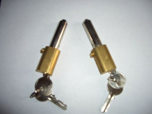 ROLLER SHUTTER BULLET LOCKS OVAL  KEYED to differ high security 6 pin anti drill