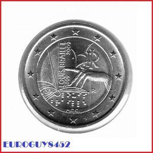 ITALIE - 2 € COM. 2009 UNC - LOUIS BRAILLE