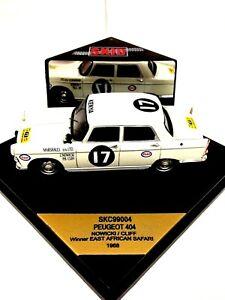 Rare Vitesse SKID 1-43 1/43 Scale Peugeot 404 1968 Diecast Car #112A