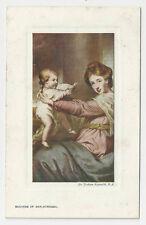 """Tuck's """"Oilette"""" Postcard, Duchess of Marlborough by Sir Joshua Reynolds, R.A."""