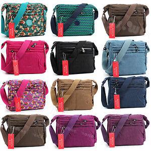 New-Women-Waterproof-Messenger-Cross-Body-Handbag-Ladies-Hobo-Bag-Shoulder-Bag