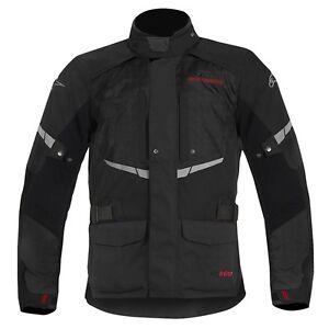 NEW-Alpinestars-Andes-Drystar-Waterproof-Jacket-Black-LARGE-L-UK44