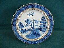 "Booth Booths Real Old Willow A8025 Round 8 1/2"" Luncheon Plate(s)"