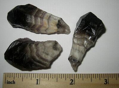 3.3/'/' Inch Beautiful Chevron Amethyst Point Gemstone Chevron Amethyst Terminated Point Specimen Healing Crystal Chevron Amethyst Point