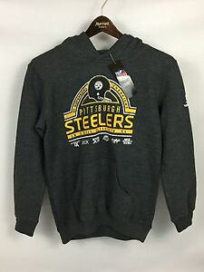 Image is loading Kids-Pittsburgh-Steelers-5x-Super-Bowl-Champions -Sweatshirt- 8b3cd4103